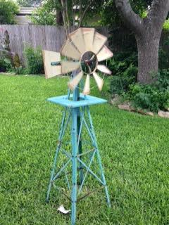 Backyard Windmill -TX